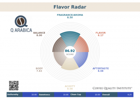 Оценка качества кофе –  характеристики, используемые для оценки спешалти кофе.