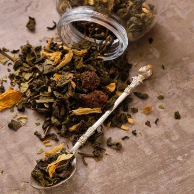 Чай зеленый, зеленый с добавками