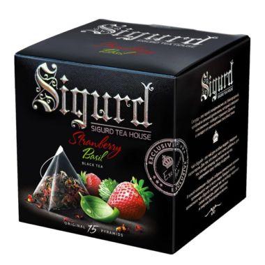 Чай SIGURD в пирамидках (черная, 15шт)